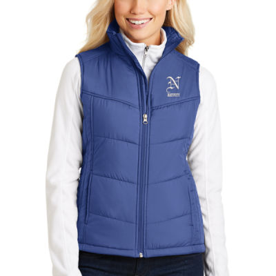 Port Authority ® - Ladies Puffy Vest - Embroidered Logo Thumbnail